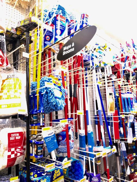 ACE Mops and Other Cleaning Supplies Available