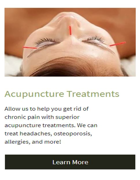 Acupuncture - The Provent Century Old Solution for Our Modern Chronic Pain and Health Issues.