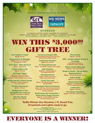 NSI-GCC Member's Sets New Record at Feztival of Trees