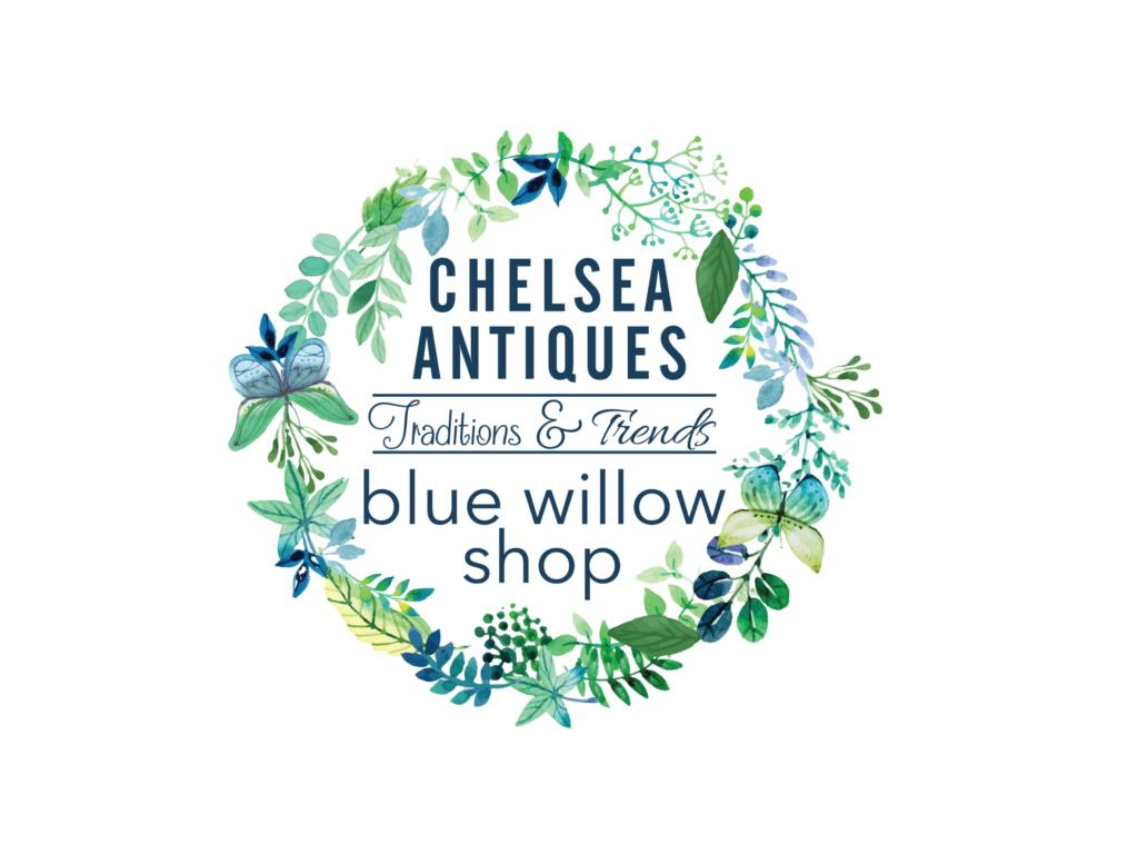 Blue Willow & Chelsea Antiques
