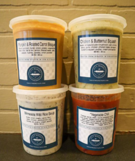 Famous City Market Soups Now In 30oz To Go Containers