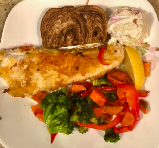The Brick Walleye Plate - Friday Fish Fry