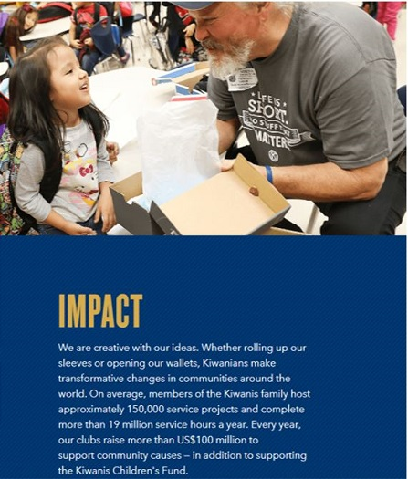 North Shore Kiwanis -  Helping to Make Positive Impacts