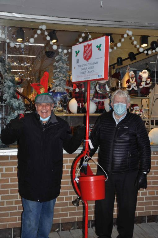 Kiwanis Rings The Bell For Salvation Army