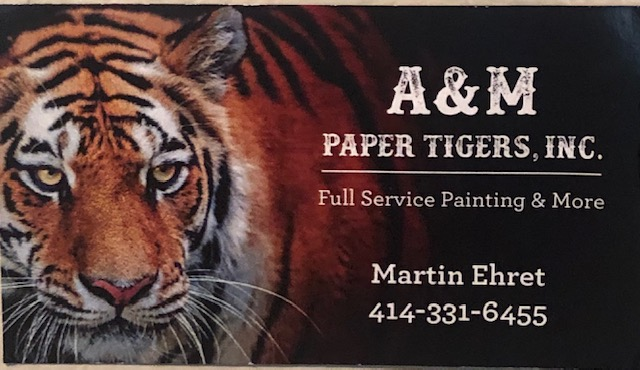 We are Purr-fect for any painting and wallpapering project