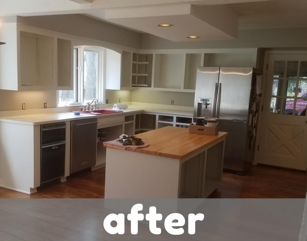 Kitchen Cabinets - After