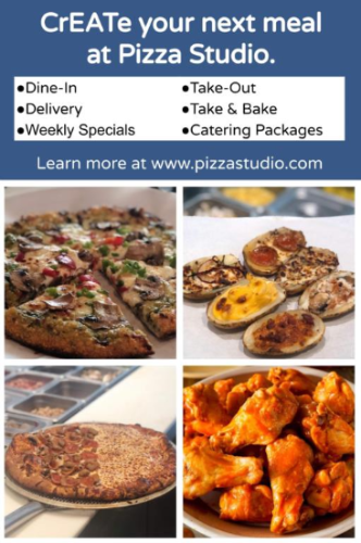 Pizza Studio ~Dine-In Open + Take-out ~ Delivery~ Take & Bake~ Safe Catering Packages