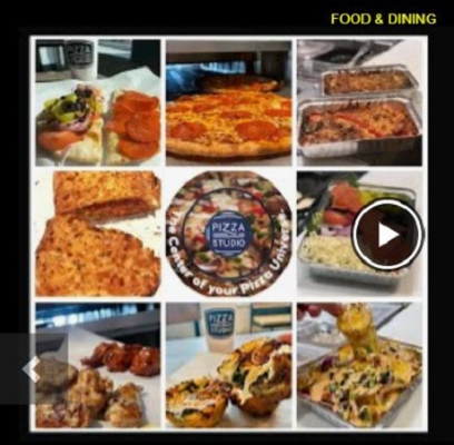 View Our New Video Menu-See What's New & Delicious at Pizza Studio