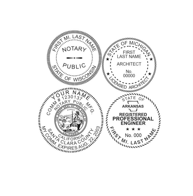 Professional Seals - For ALL 50 States