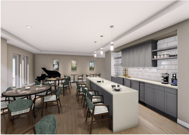 AZURA  Residents Lounge - North Shore Fox Point