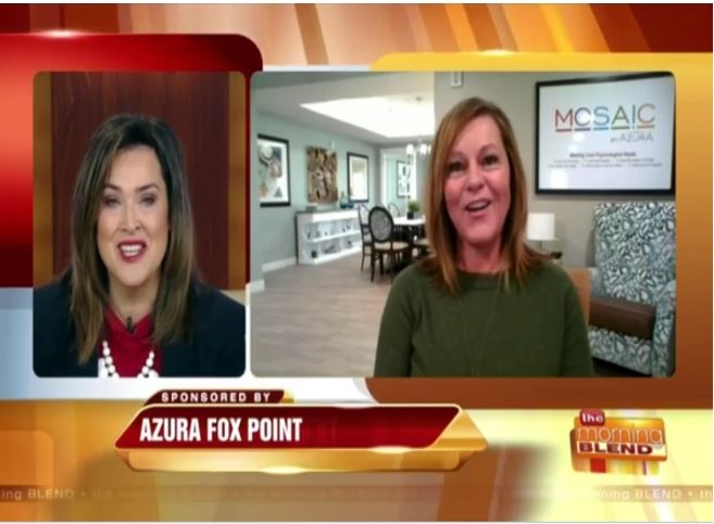 Azura Featured on Morning Blend Video-