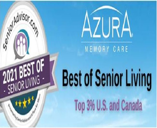 All Azura Memory Care communities named Best of Senior Living 2021