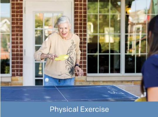 Our residents enjoy the benefits of programmed exercise
