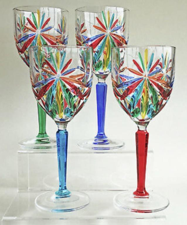 More Italian Crystal Wine Glasses - Exclusive Styles and Designs