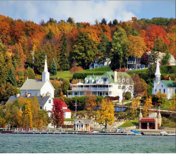 Escape to Door County - for Safe Distance Fall Colors & Fun...View Slideshow Tours