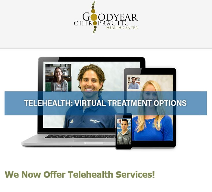 Goodyear Health Center Launches TeleHealth Virtual Treatment